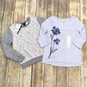 NWT Blush & Bloom Sweatshirt/Sonoma Top